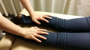 下腿三頭筋の検査