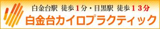 目黒・港区の整体院【初回満足度93.4%】白金台カイロプラクティック